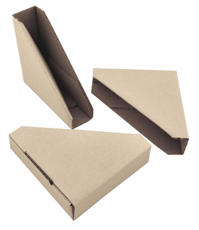 Gefaltete Pappecken, Ideal zum Schutz von Bilderrahmen Innenmaß
