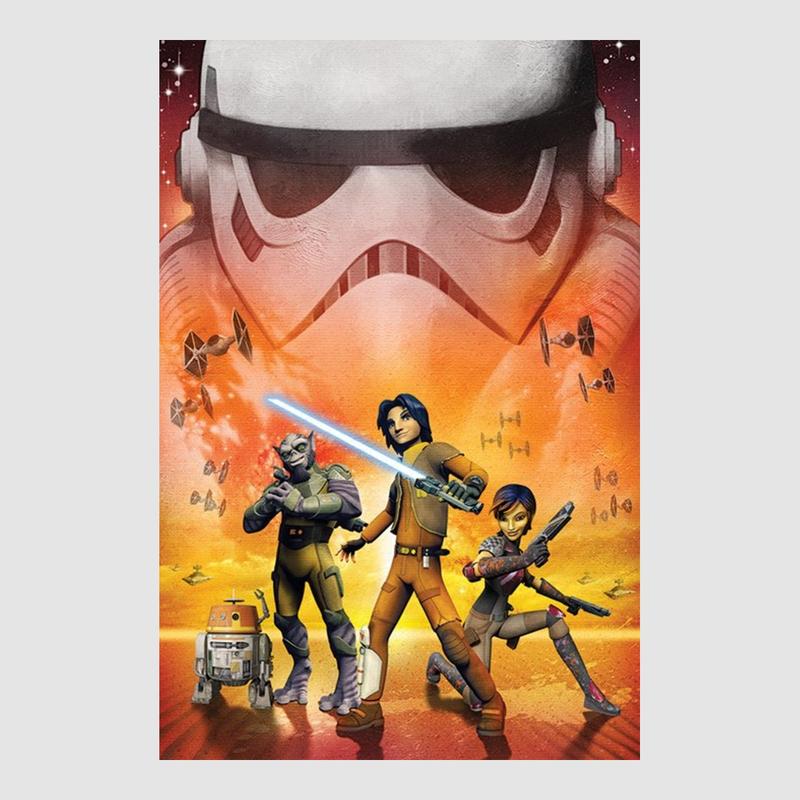 kunstdruck poster star wars game storm trooper 61 x 91 50 cm option. Black Bedroom Furniture Sets. Home Design Ideas