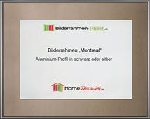 montreal aluminium bilderrahmen alu mit r ckwand und acrylglas. Black Bedroom Furniture Sets. Home Design Ideas
